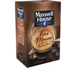 Maxwell House Quality Filter Fine Foam Intense Recipe 100 sticks