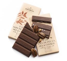 Tablette Lait Noix de Pécan Sel & Cookie - 85g - Café Tasse
