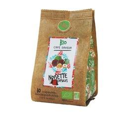 Maison Taillefer NU hazelnut-flavoured organic Nespresso-compatible capsules
