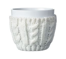 VIVA Scandinavia COSY porcelain cup with knitted cosy - 250ml