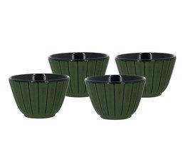 set of 4 cast iron cups - 12cl - Viva Scandinavia