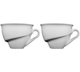 Lot de 2 tasses à thé/chocolat 23cl - Delissea