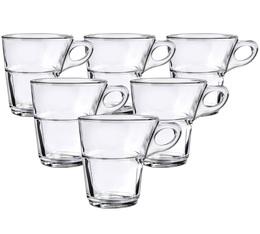 6 tasses à café Caprice 22 cl -Duralex