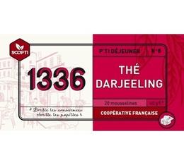 Thé noir Darjeeling 1336 (Scop TI) x 20 Mousselines
