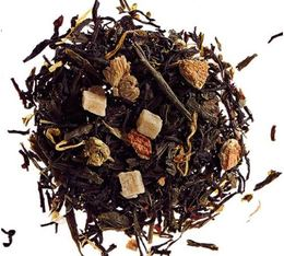 Summertime blend of green and black loose leaf tea - 100g - Comptoir Français du Thé