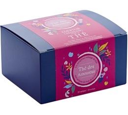 Thé vert et Noir Des Amoureux - 20 mousselines - Comptoir Français du thé