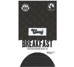 Thé noir bio Breakfast - 20 sachets fraicheurs - Cosy