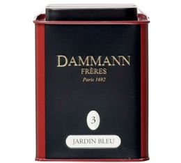 Box N°03 Jardin Bleu black tea - 100g loose leaf tea - Dammann Frères