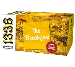 Thé noir Breakfast - 20 sachets Mousselines - 1336 (Scop TI)