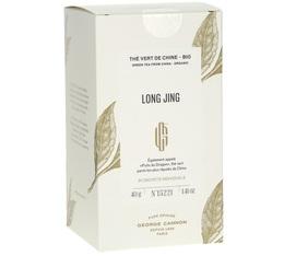 Thé vert Long Jing Bio - 20 sachets - George Cannon