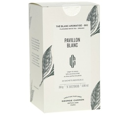 Organic white tea - Pavillon Blanc x20 sachets - George Cannon
