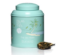 Boîte Thé vert des Alizés - 100 g - Palais des Thés