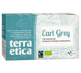 Earl Grey black tea - 20 individually-wrapped tea bags - Terra Etica