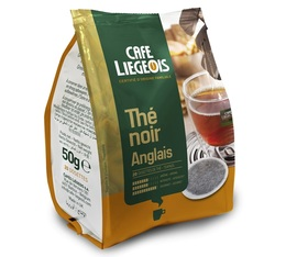 Café Liegois 'Thé Noir Anglais' English breakfast tea Senseo pods x20