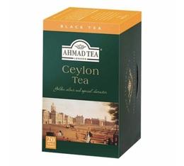 Thé noir Ceylan - 20 sachets fraicheurs - Ahmad tea
