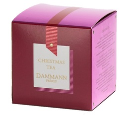 Christmas tea - Flavoured black tea - 25 Cristal® sachets - Dammann Frères