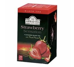 Ahmad Tea Strawberry-flavoured black tea - 20 sachets