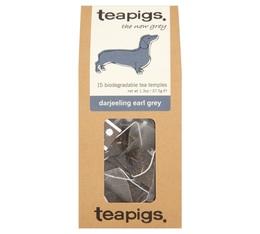 Thé noir Darjeeling Earl Grey - 15 sachets mousselines - Teapigs