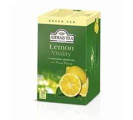 Lemon Vitality Green Tea - 20 individually-wrapped tea bags - Ahmad Tea