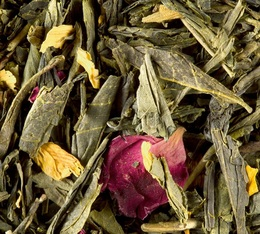Thé vert en vrac des Deux Chinois - 100g - Dammann