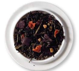The vert et noir en vrac Dimanche Gourmand - 100g - Comptoir Français du thé