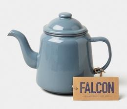 Service à thé gris pigeon 1L - Falcon Enamelware