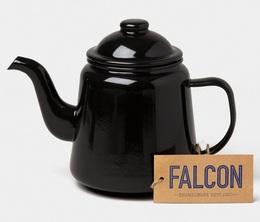 Service à thé noir charbon 1L - Falcon Enamelware