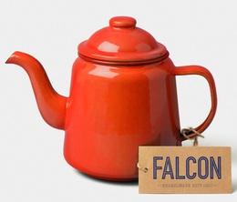 Falcon Enamelwear - Pillarbox red enamel Teapot - 1L