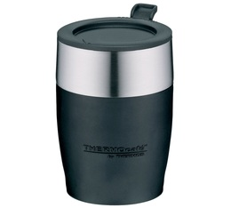 Mug isotherme de bureau inox noir 23 cl - Thermos