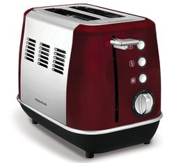 Toaster Evoke 2 tranches Rouge - Morphy Richards