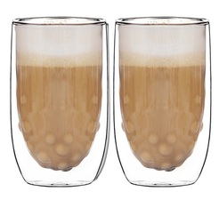 2 'Elements Water' double wall glasses 38cl - QDO