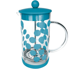 Cafetière à piston Zak!Designs DOT DOT bleue 8 tasses