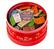 Boîte Chapeau fermée Rouge 100 mini-tablettes 14 goûts - Café-Tasse