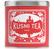 6 Boîtes en métal vide rouge 250g - Kusmi Tea