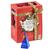 Coffret Vacances d'hiver Rouge -12 sachets pyramides - emballage éco-conçu- English Tea Shop