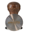 Baristator Tamper 58.6mm High Precision Brown Wooden Handle