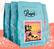 Cafés Lugat Coffee Beans Summer Blend - 4 x 250g