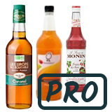 Sirop/Topping pour les professionnels