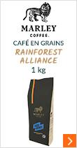 Marley Coffee Soul Rebel rainforest 1kg grain