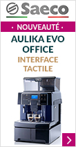 Saeco Aulika Evo Office - Interface tactile