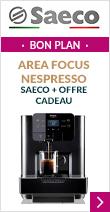 Machine à capsules pro Area Focus Nespresso - Saeco