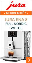 Découvrez la nouvelle version de la Jura ENA 8 Full Nordic White