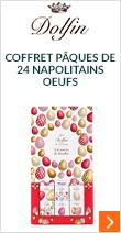 Coffret Pâques de 24 napolitains Oeufs - Dolfin