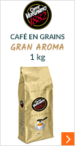 Café en grains Gran Aroma - 1kg - Caffè Vergnano