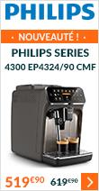Découvrez la nouvelle machine automatique Philips Série 4300 EP4324/90 CMF