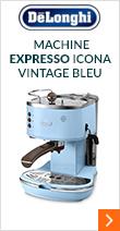 Machine expresso Delonghi Icona Vintage Bleu EcoV 311.AZ