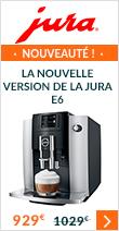 Découvrez la nouvelle version de la Jura E6 en version Platinium et sa garantie 3 ans