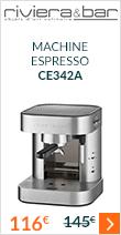 Machine expresso Riviera & Bar CE342A