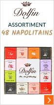 Assortiment de 48 Napolitains Panachés - Dolfin