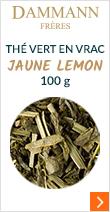 Thé vert en vrac Jaune Lemon - 100g - Dammann